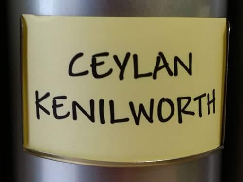 Thé noir Ceylan Kenilworth en vrac DAMMANN