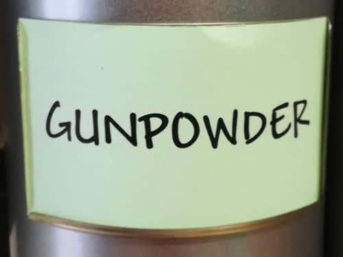 Thé vert Gunpowder en vrac DAMMANN