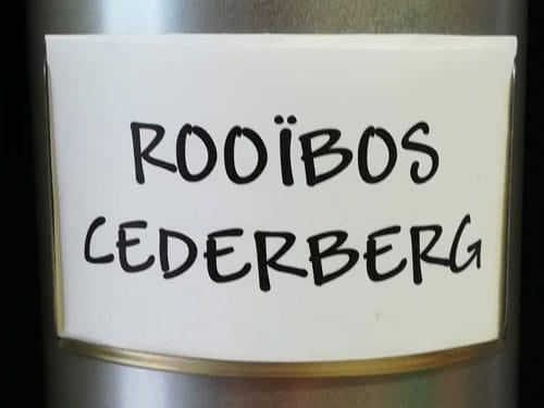 Thé Rooïbos Cederberg en vrac DAMMANN