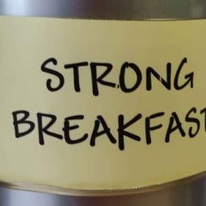 Thé noir Strong Breakfast en vrac DAMMANN