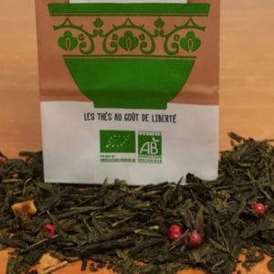 Thé vert en vrac Dammann ou Route des comptoirs