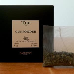 Thé vert Gunpowder DAMMANN