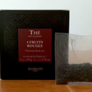 Thé noir 4 fruits rouges DAMMANN