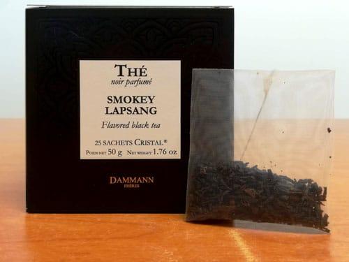 Thé noir Smokey Lapsang DAMMANN