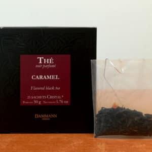 Thé noir caramel DAMMANN