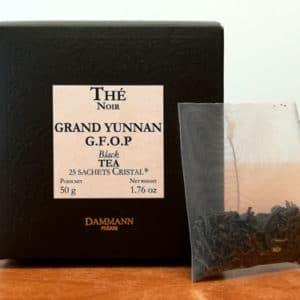 Thé noir Grand Yunnan G.F.O.P. DAMMANN