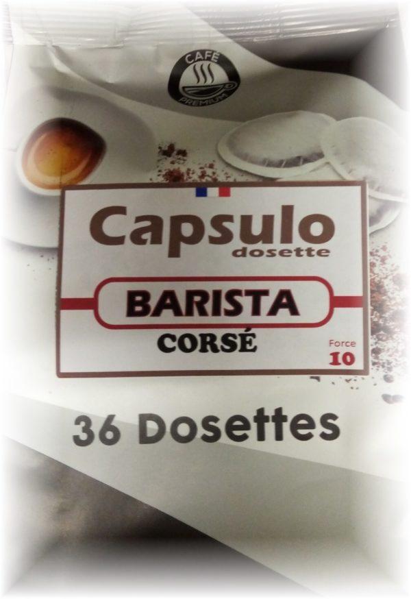 """DOSETTES """"COMPATIBLES SENSEO"""" BARISTA"""