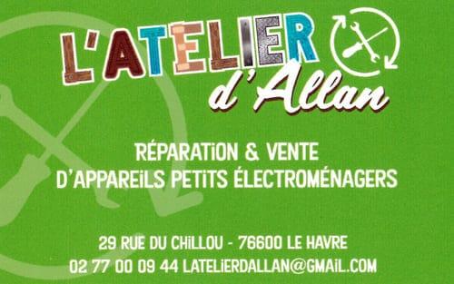 Partenaire CaféOcéane - L'atelier d'Allan